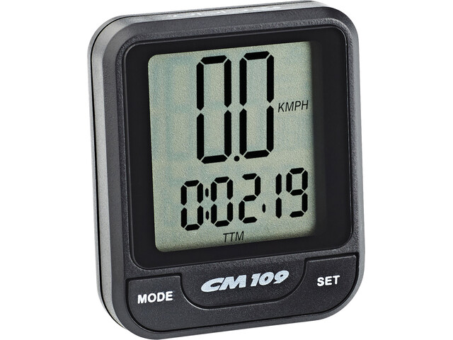 Ciclosport CM 109 Ciclocomputador, black